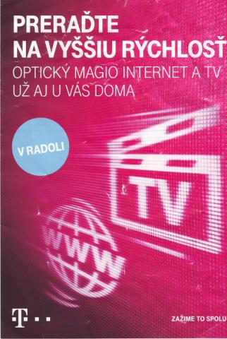Telekom leták 2019 pre Radoľu